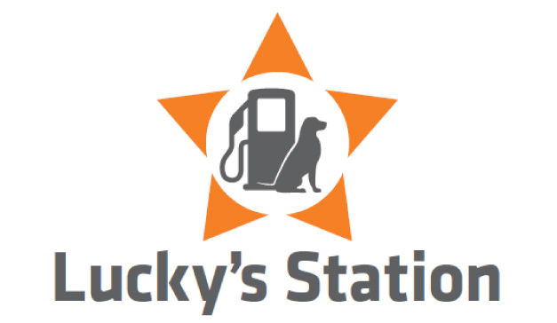 luckys station logo